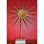 Image of Starburst Mirror on Stand (Two Available)