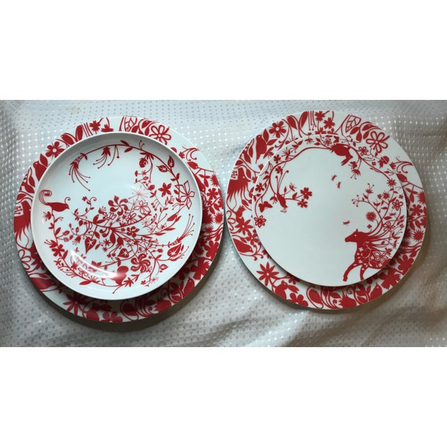 Tord Boontje's Table Stories Dinnerware Pieces - Set of 4 - Image 2 of 10