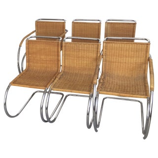 Mies Van Der Rohe Mr Chrome Chairs - Set of 6