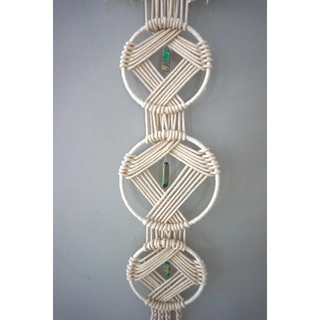 Boho Macrame Wall Hanging - Image 4 of 11