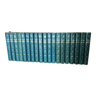 1927 Grolier's Book of Knowledge - Set of 19