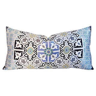 Italian Silk Andalusian Moorish Pillow
