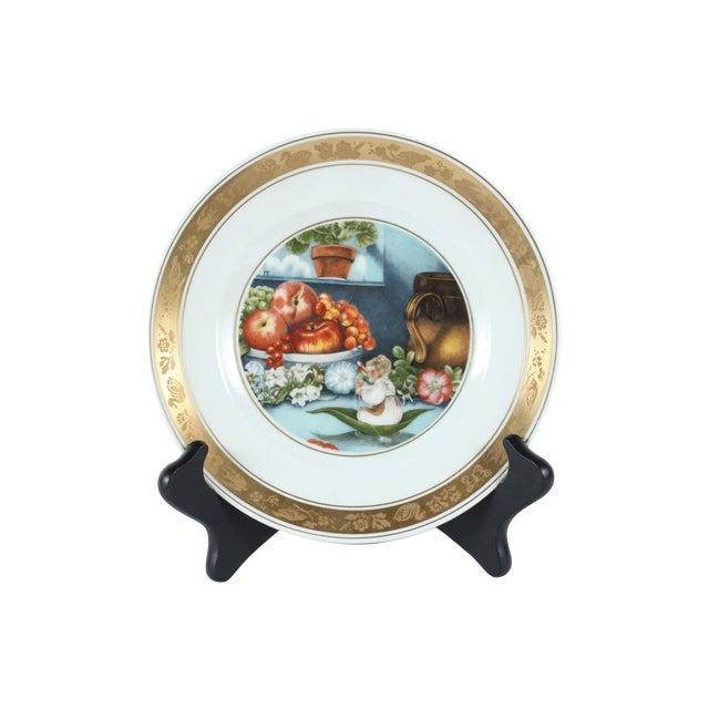 Image of H.C. Andersen Fairytale Plate - Thumbelina
