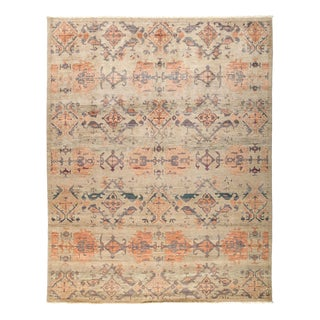 """Eclectic, Hand Knotted Area Rug - 8' 1"""" x 10' 1"""""""