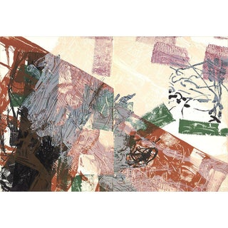 Jean Paul Riopelle, Composition II-171, 1968 Lithograph