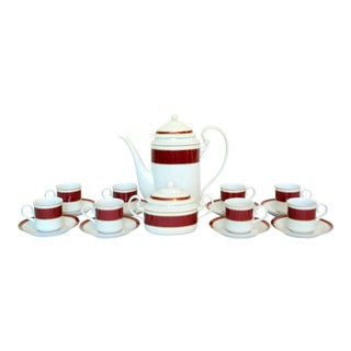 Block Spal Porcelain Coffee Service