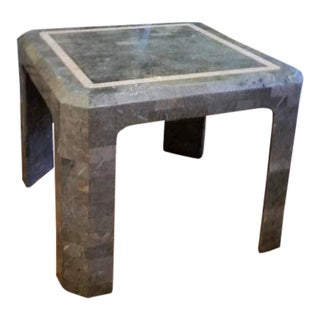 Maitland Smith Tessolated Stone Side Table