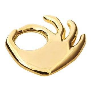 Brass Adler 'Ok' Hand Magnifying Glass