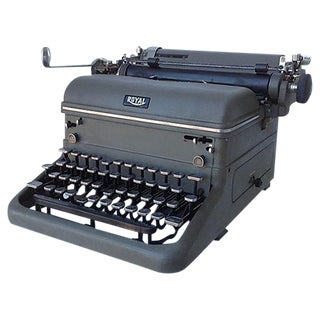 "1940's Vintage ""Royal"" Typewriter"