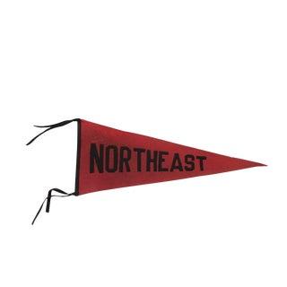 Northeast High School Philadelphia PA Felt Flag