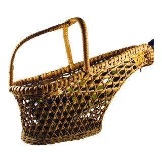 Woven Wicker Wine Bottle Holder