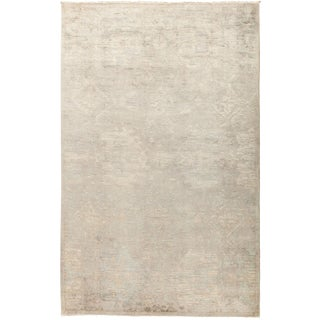 """Overdyed Hand Knotted Area Rug - 5'2"""" X 8'2"""""""