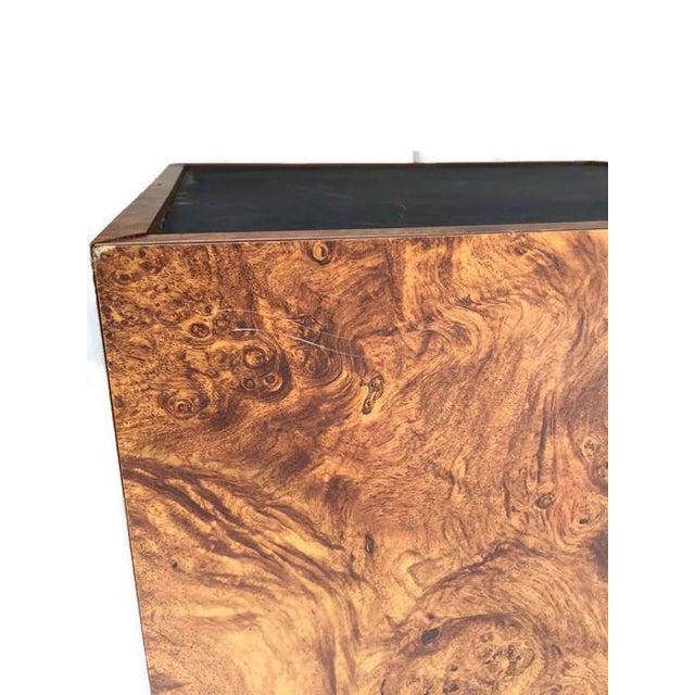 Vintage Burl Wood Cube Tables - A Pair - Image 8 of 10