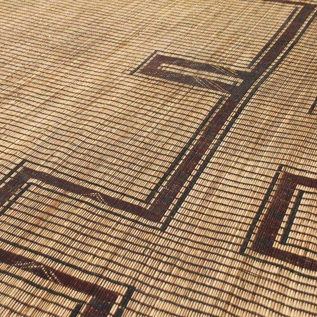 Rustic African Tuareg Woven Rug - 11′4″ × 19′ - Image 4 of 5