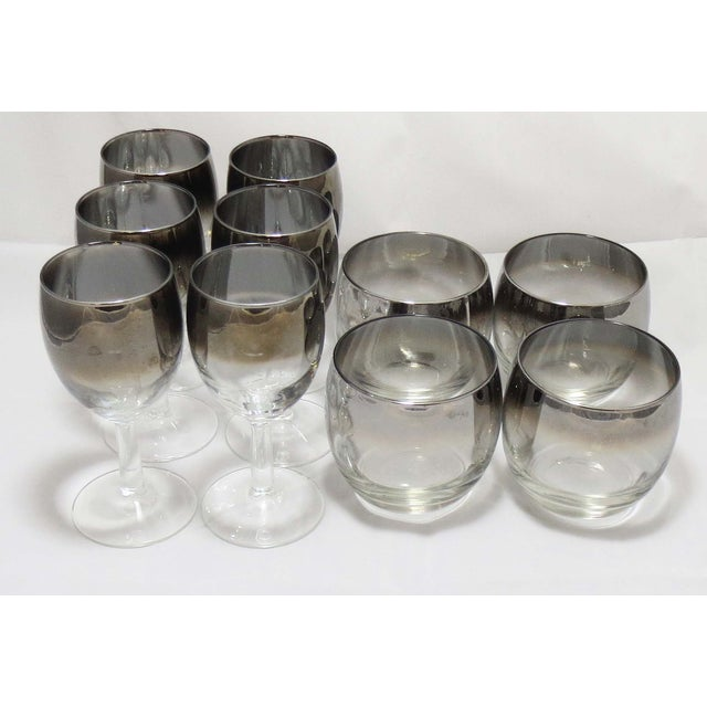 Image of MCM Queen's Lusterware Cordial and Roly Poly Set