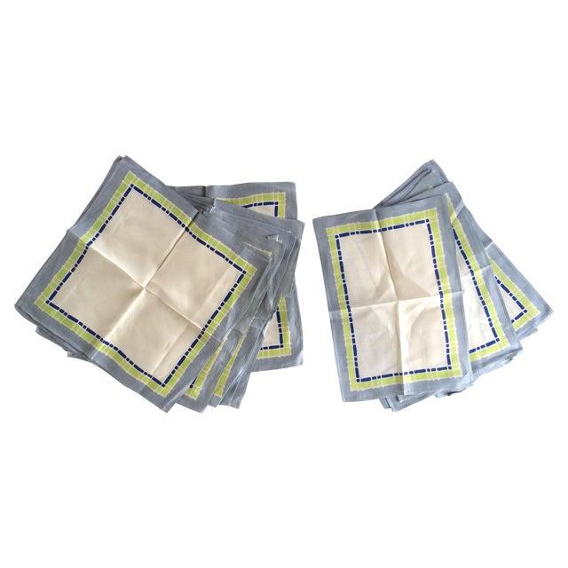 16-Piece Vintage Napkin & Placemat Set - Image 1 of 5