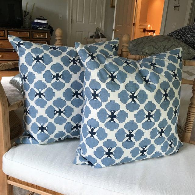 Galbraith and Paul Linen Pillows - A Pair - Image 2 of 8