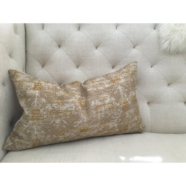 "Zak & Fox Khotan Custom Pillow Cover - 24""x14"" - Image 4 of 8"