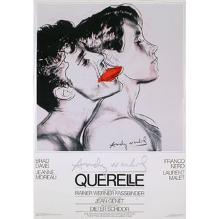1983 Querelle Poster by Andy Warhol