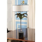 Image of Italian Tole Palm Lamp