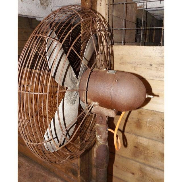 """Big Old Hunter Industrial Pedistal Fan 5' 8"""" Tall - Image 5 of 8"""