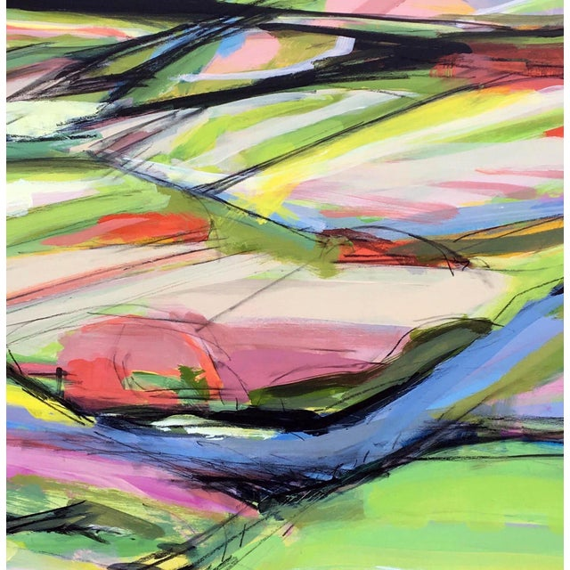 Onion Road III - Spring Acrylic Painting - Image 3 of 5