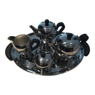 Alessi Bombe Tea Set - Set of 5