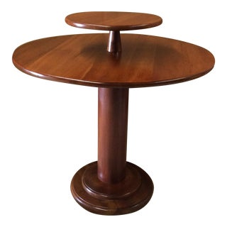 Leopold Stickley 2 Tier Round Foyer Table