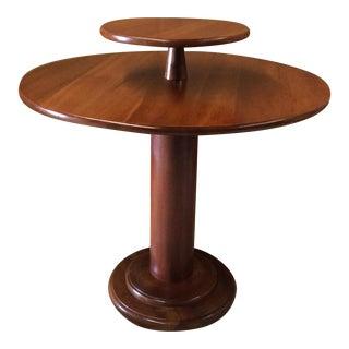 Leopold Stickley 2 Tier Round Foyer Table