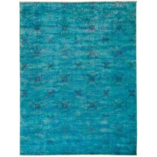 Vibrance, Hand Knotted Area Rug - 9' X 11'7""