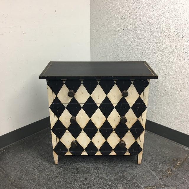 Diamond Motif 3 Drawer Dresser - Image 2 of 6