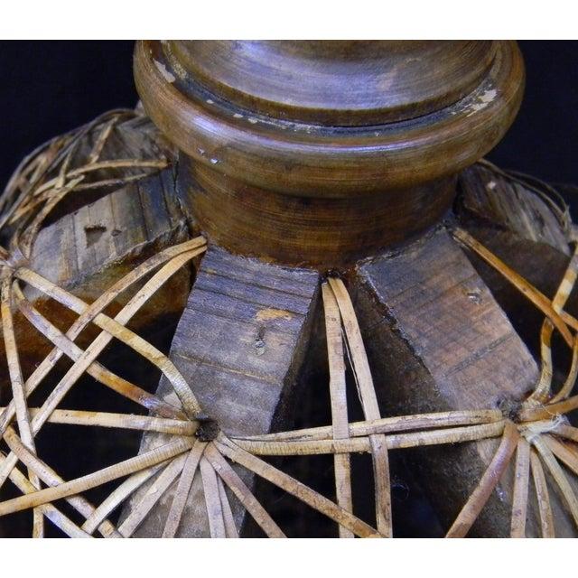Vintage Italian Pedestal Hand Caned Flower Urn - Image 6 of 10
