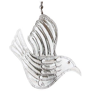 Hanging Aluminum Bird Ornament