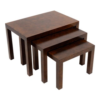 Set Of Milo Baughman Nesting Tables By Directional