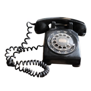 Western Electric Bell Systems Black Rotary Phone