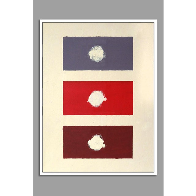 """Image of """"Red Domino"""" Fine Art Giclée Print"""