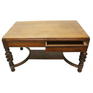 Antique Partner's Desk