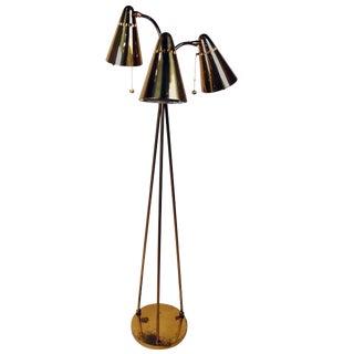 Mid-Century Tripod Floor Lamp