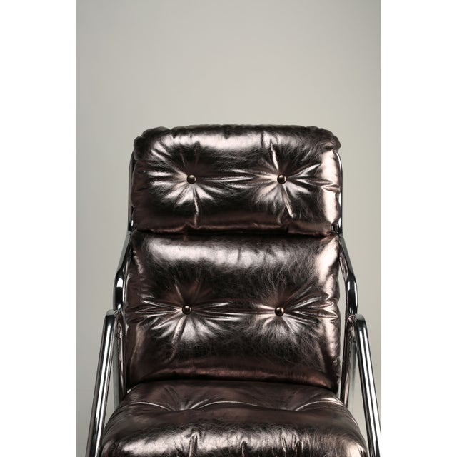 1970s Jerry Johnson Lounger - Image 4 of 4