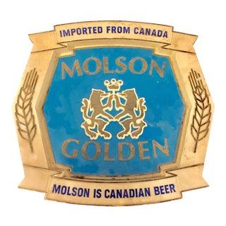 Molson Golden Beer Sign