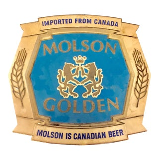 Molson Golden Beer Sign