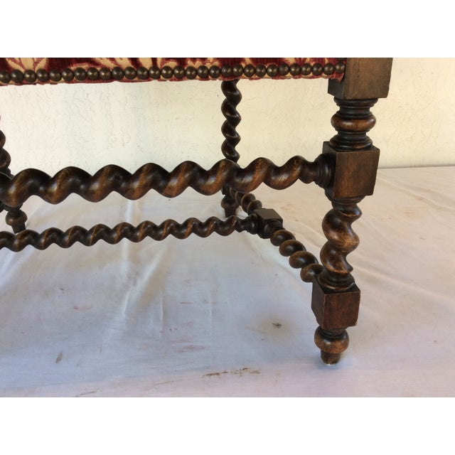 Image of English Barley Twist Chairs- A Pair