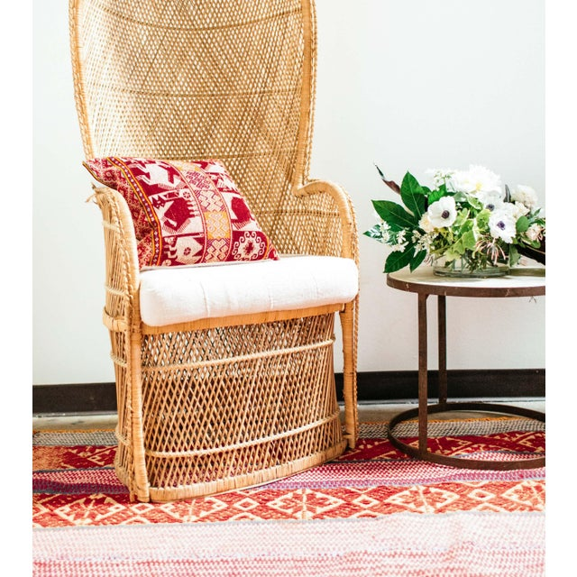 Image of Red Handwoven Peruvian Throw