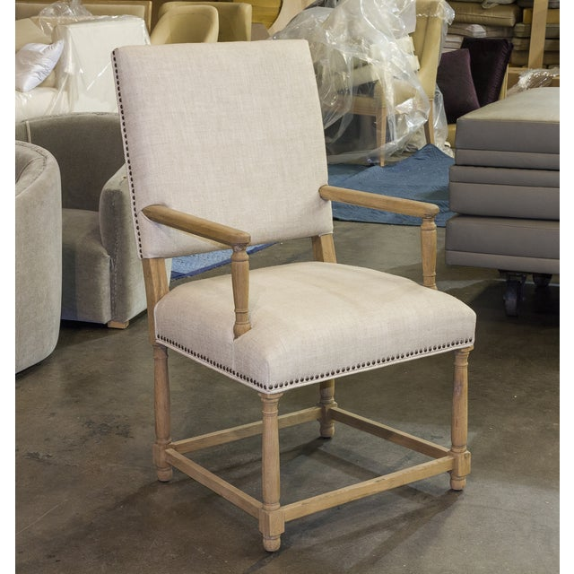 Restoration Hardware Empire Parson Chair - a Pair - Image 2 of 3