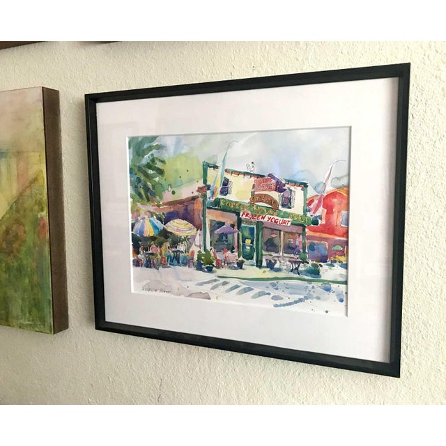 After the Run - Fair Oaks Deli Watercolor Painting - Image 2 of 3