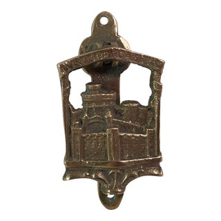 Vintage Windsor Castle Brass Door Knocker
