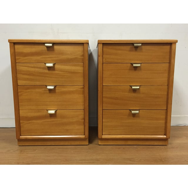 Edward Wormley for Drexel Nightstands - A Pair - Image 2 of 10