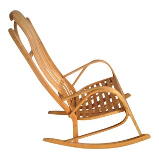 Scandinavian Bentwood Rocking Chair