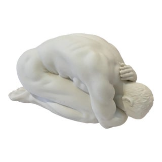 White Porcelain Male Statue