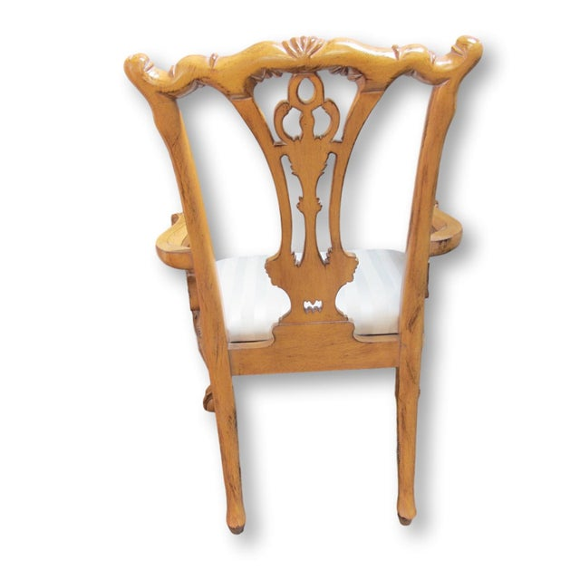 Toscano Chippendale Dining Chairs - Set of 8 - Image 7 of 9